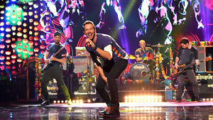Pair of Coldplay Tickets - Row 44 of Floor, Section B8 - Sept 29