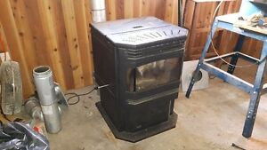 enviro meridian pellet stove for sale $1300.00 or best offer