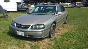 2003 Chevrolet Impala Sedan Kawartha Lakes Peterborough Area image 1