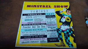 LP: A Complete Authentic Minstrel Show Kitchener / Waterloo Kitchener Area image 1
