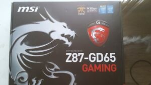 MSI Z87-GD65 GAMING Intel Z87 Motherboard MS-7845 LGA 1150