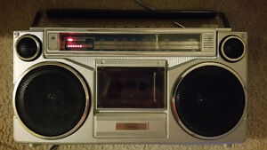 Sears radio tape player am fm sw