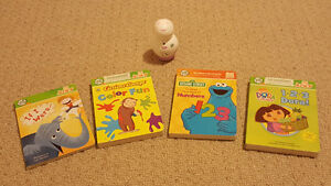 Leap Frog Tag Junior and 4 books