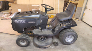 "Murray Riding lawnmower A D 17hp 42"" cut $775 o.b.o"