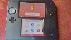NINTENDO 2ds, and 3 Games