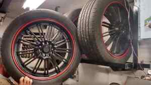 "20"" Kasino Rims mint Condition"