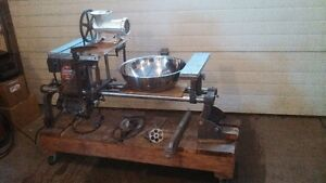 wood lathe, drill press, table saw,meat grinder:Shop Smith