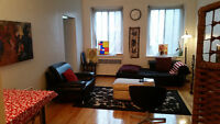 Spacious 4 1/2  Queen Mary near Universite of Montreal  Monkland