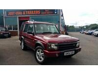 LAND ROVER DISCOVERY 2004 TD5 MANUAL 4X4 7 SEATS FULL HISTORY MOT'D (SOLD)
