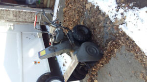 """Snow blower for sale 30"""" 10 hp Craftsman"""
