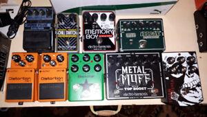 Pedal Purge - Boss, Keeley, MXR, Morpheus, Blackstar, Digitech