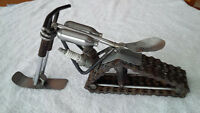 One of a kind Metal Art Chopper Sled for Garage, Mancave etc...