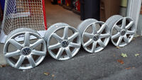 Set of 4 mags for Volkswagen (16 inch)