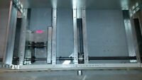 HEAVY DUTY 4' WIDE CHAIN DRIVEN FLOOR TRACKING SYSTEM