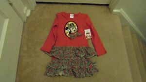 new minnie dress and outfit size 6