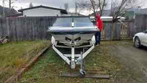 Baja boat 454 big block trade for a truck will add cash for the