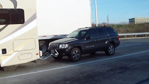 Tow Bar, Safety Chains & Magnetic Roof Lights Pkg.