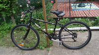 Used mountain bike with 26 inch tires