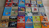 Asterix, Archie and Horrible Histories Books