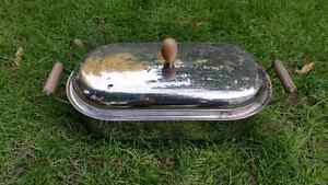 STAINLESS FISH COOKER STEAMER POACHER