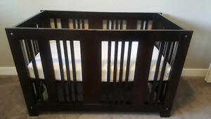 Beautiful high quality AP Industries crib and dresser set