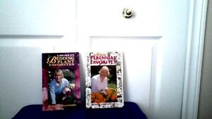 2 Books on Perennials & Bedding Plants