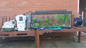100 liter Fish Tank with accessories