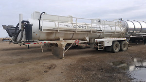 2015 semi vac trailer for trade on tankers or super b
