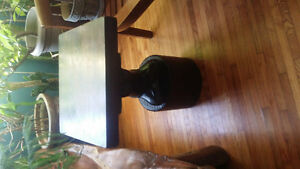 Hand carved Mahogany  accent table Kingston Kingston Area image 2