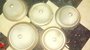 5 sets of flush wall lights. $50 for all!
