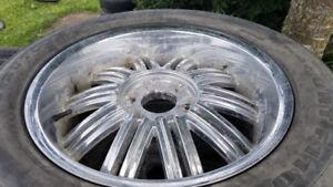 4X pneus Autogrop Xsport F110 275/55R20 sur mags 6 trous