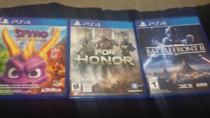 Christmas Special. 3 PS4 Games