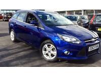 2013 Ford Focus 1.6 125 Zetec 5dr Powershift Automatic Petrol Estate