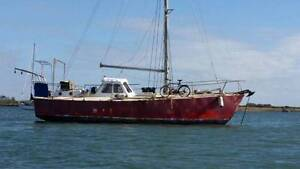 40 FOOT STEEL YACHT FOR SALE Maryborough Fraser Coast Preview