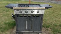 3 BURNER BBQ WITH INFRARED BURNER AND TANK