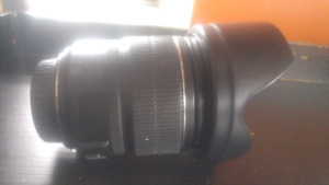 Canon EFS 15-85mm lens with extras