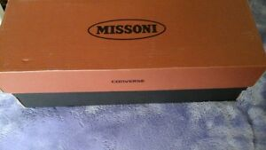 Ladies Converse Missoni canvas sneakers never worn size 6.5 new St. John's Newfoundland image 2