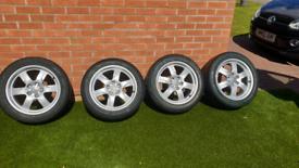 Genuine Audi OEM alloy wheels