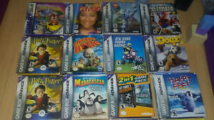 GAME BOY SUPER NINTENDO AND N64 BOXED GAMES