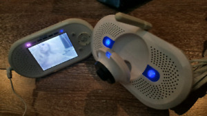 First Years colour screen home and away wireless baby monitor.