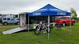 2015 Yamaha Racing Tent Blue