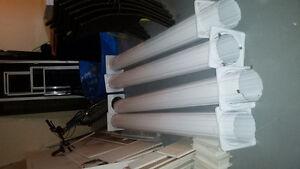 Colonnes d'aluminium - extérieures ou intérieures