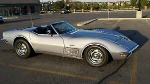 1971 Corvette Stingray Roadster Convertible