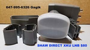 Shaw Direct Satellite TV Brand new 60E DISH & XKU 75E LNB's