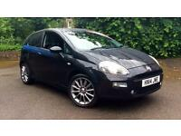 2014 Fiat Punto 1.4 Jet Black II 3dr Manual Petrol Hatchback