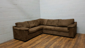 Free delivery: Microfibre Sofabed Sectional