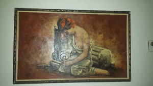 Beautiful painting 150.00 or best offer