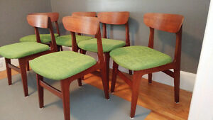 Punch Design Teak Dining Chairs