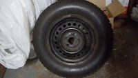 195 70 14- Like New Uniroyal Winter Tires