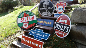 OLD SCHOOL  ATV SLED AND CYCLE SIGNS